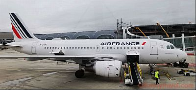 Air France Airbus A319 at CDF
