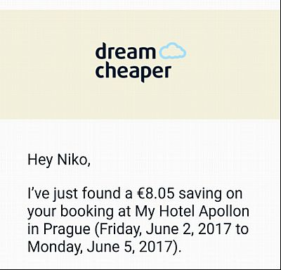 DreamCheaper Email