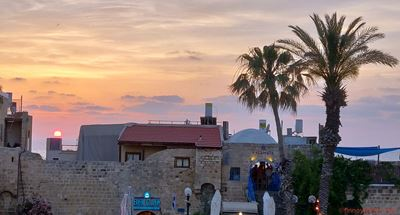 Sunset in Old Jaffa