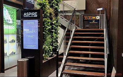 Entry in Aspire Lounge Copenhagen Airport
