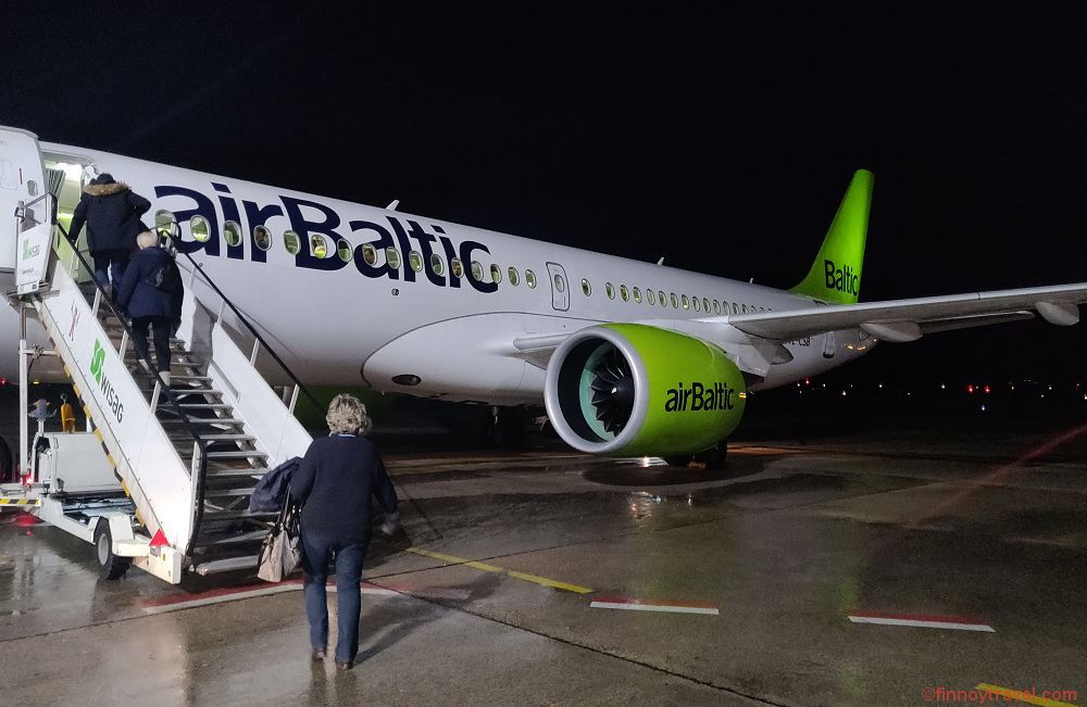 Air Baltic Airbus A220