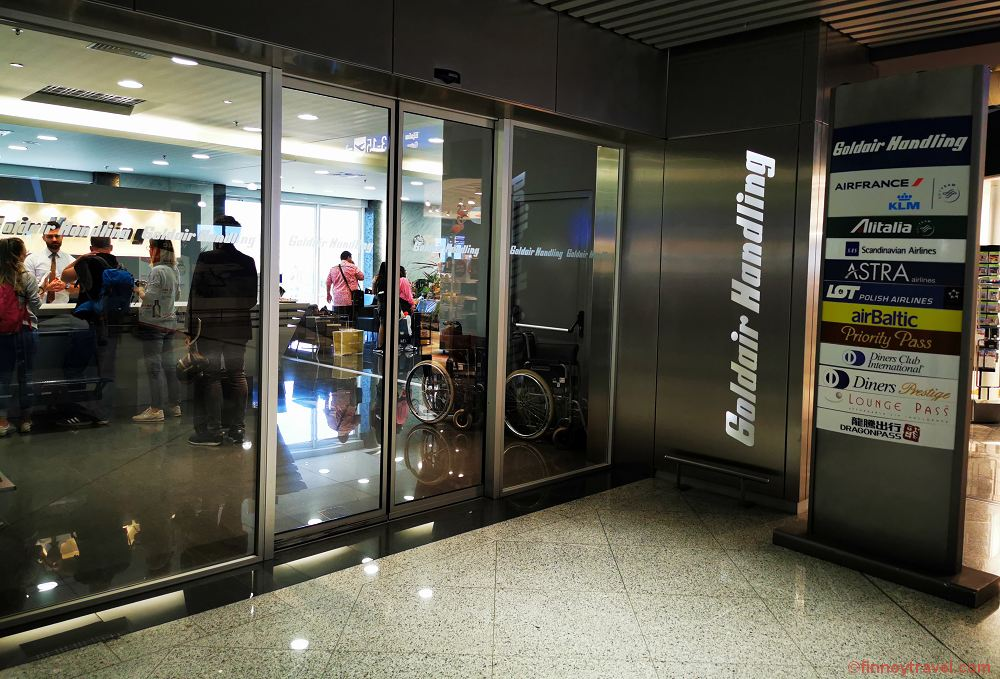 Review: Goldair Handling Lounge at Athens Airport - Finnoy