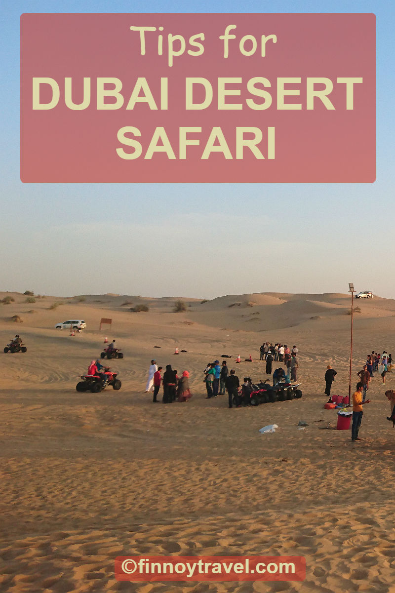 Dubai desert safari Pinterest