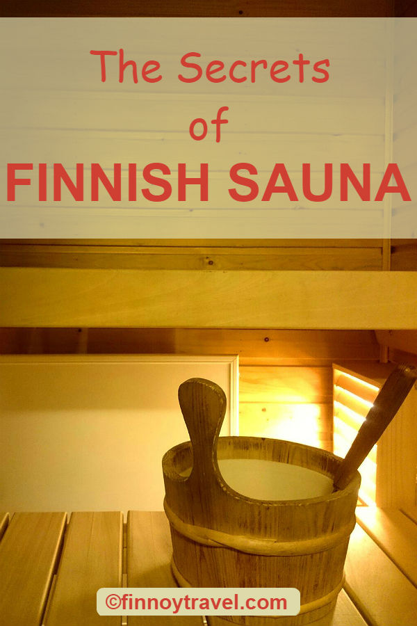 Finnish home sauna