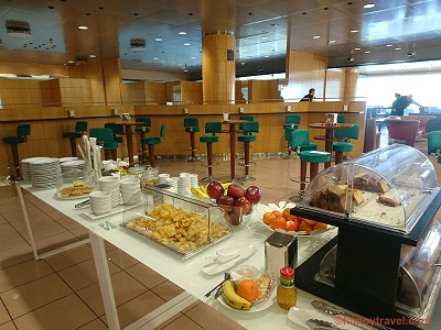 Sala Galdós business lounge at Las Palmas Airport