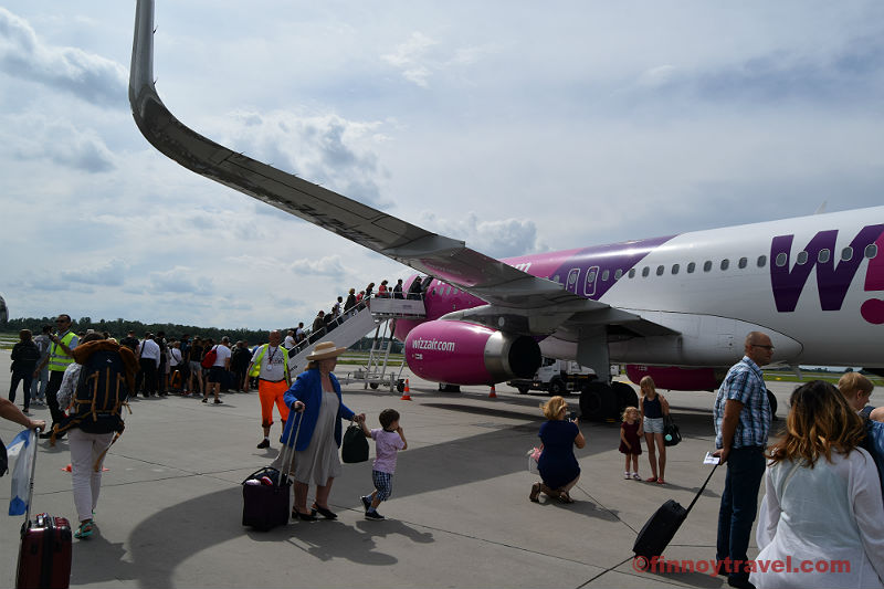 Review: Wizz Air - A Reliable Airline or a Purple Spark? - Finnoy Travel